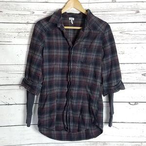 Splendid longs sleeve flannel size Medium